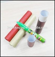 Gift box pen set,pen and pencil set box,round cardboard pen box