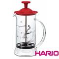 hario französisch drücken kaffeemaschine rot 240ml für kaffeebohnen importeure