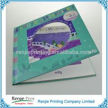 Overseas Hot Selling Customized PVC Windows Children Book Printing