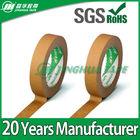 328C brown Self Adhesive Masking Paper Tape