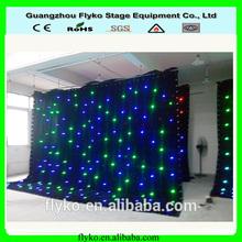Fiber Optic Lights Item Type and RGB Emitting Color fiber optic curtain