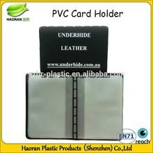 Plastic id card pvc silicone card holder