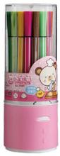 24colors washable student water color pen