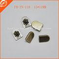 western anti bronze metal botão snap