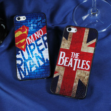 Protective case for iphone, for iphone 5 5s waterproof hard plastic mobile back cover