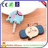 fashion soft pvc key cap cover for promotion