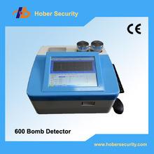 Explosivos portátil detector de traza, altamente sensibles de escaneo dinamita hd600 drogas