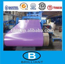 Revestimento de zinco bobinas / PPGI cor bobinas de aço / um pouco óleo