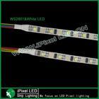 DC5V addressable 32led ws2801 IC smd5050 rgb pixel flex strip dream color