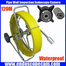 120m waterproof flexible snake scope borescope camera