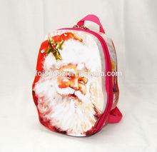 special design eye-catching backpack shape metal tin box/bag, shoulder bag tin packaging