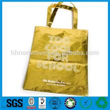 Guangzhou yellow non woven shopping bags manufacturers