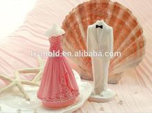 Romantic ideas wedding wedding decoration mold Ou the bride wedding dress mold who sent the gift