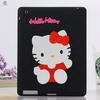 3D minion Hello kitty Silicon Silicone Back Cover Case For iPad 2 3 4