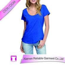 Bulk wholesale cotton inner short sleeve t-shirt blank t-shirt clothes china
