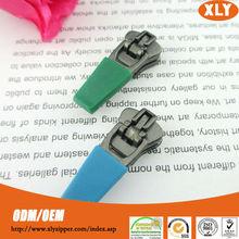 promotional rubber zipper puller/metal zipper slider/pendant for sports wear, trucksuit, backpack, bags