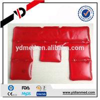 Moist heating pad for shoulder