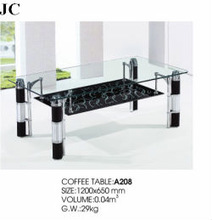 A208 glass coffee table fish tank for sale