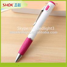 2014 new product promotional pen ballpoint pen led grow lighting