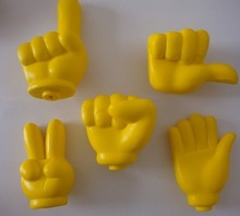yellow difference design Thumb stress ball squeeze toy