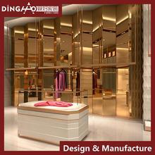 Clothes Shop Decoration Design for Brand Garment Shop