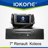 "factory 7"" HD Touch screen koleos renault dvd with TMC, camera, mic, dvb-t"