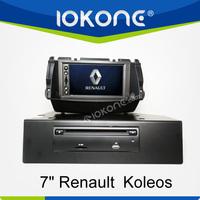 "factory 7"" HD Touch screen renault koleos car radio with TMC, camera, mic, dvb-t"
