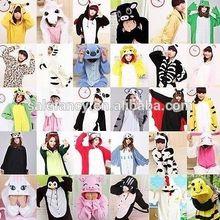 Unisex Adult funny wholesale cotton pajamas Animal Onesie Sleepwear QWAO-2011