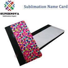 Custom Name Card Holder ,Sublimation Card Wallet