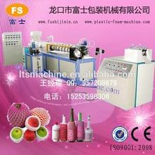 CE & ISO9001 Apple/Guava/Melon/Mango PE Foam Net/Pad Production Machine