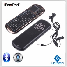 iPazzPort Wirless Bluetooth Keyboard With Mouse Touchpad Remote Control Voice Input Computer keyboard