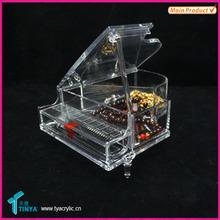Acrylic Piano Shape Jewelry Organizer