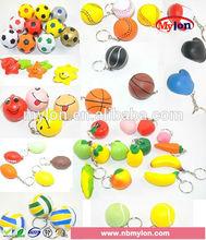 color basketball stress soccer ball manufacturer pu foam ball