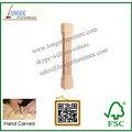 Volvió de madera maciza el poste de la isla de la pierna de la fábrica de China