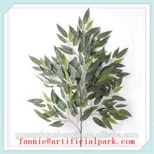 LF081601 artificial mango leaf /hot sale plastic leafs for decorations