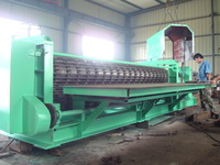 Galvanized Barrel Corrugated Roof Sheet Machine