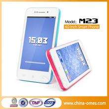 M23 Hot Sale Dual Camera WIFI GPS 3G WCDMA Telefonos