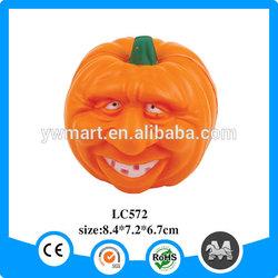 Yiwu wholesale plastic foam PU pumpkin