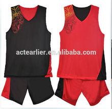 custom sublimation youth basketball jerseys reversible