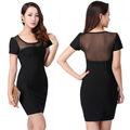 maduro de nuevo negro corto transparente vendaje vestidos de marruecos para la venta