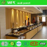 PVC wall boards wood effect wall cladding