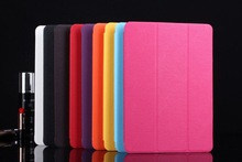 Leather phone case for ipad air ,rotate hand holder leather case for ipad