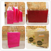 Fast production snack food packaging paper bags with window