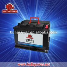 Maintenance free automotive battery ,JIS/DIN 100Ah standard top Korean car battery,12V/24V 100AH truck battery