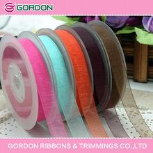 2014 hot sale organza ribbon for wedding/chrismas/parties decoration