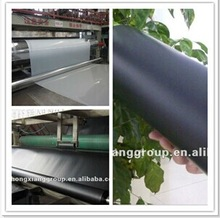 HDPE geomembrane waterproofing for roof covering