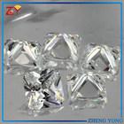 Square CZ Stone Clear White CZ Gems