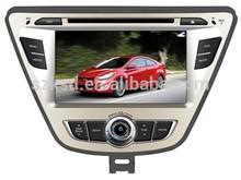 Elantra 2 din car radio with dvd cd mp3 mp4 bluetooth ipod gps