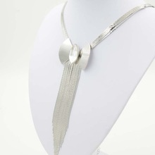 Silver chain necklace hip hop bling bling chain necklace