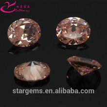 Fashion jewelry set color change 10# cz precious stones wholesale